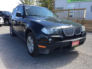 Used 2007 BMW X3 3.0I for sale in Pickering, ON