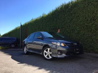Used 2013 Toyota Corolla SD + SUNROOF + BLUETOOTH + ALLOYS + NO EXTRA DEALER FEES for sale in Surrey, BC