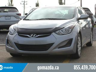 Used 2016 Hyundai Elantra GL HEATED SEATS BLUETOOTH ACCIDENT FREE 1 OWNER LOCAL for sale in Edmonton, AB