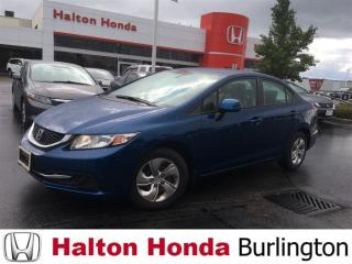 Used 2013 Honda Civic LX|HEATED SEATS|SECURITY SYSTEM| B-TOOTH for sale in Burlington, ON