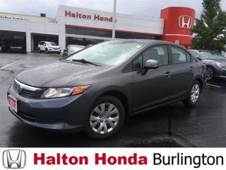 Used 2012 Honda Civic LX|KEYLESS ENTRY for sale in Burlington, ON