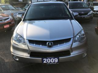 Used 2009 Acura RDX Tech Pkg Navi,Sunroof AWD ONTARIO CAR NO ACCIDENTS for sale in Brampton, ON