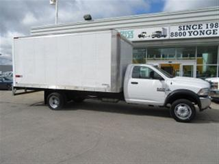 Used 2016 Dodge Ram 5500 HD SLT Diesel with custom 17 ft aluminum box for sale in Richmond Hill, ON
