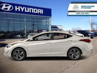 Used 2016 Hyundai Elantra GLS   1-Owner   Sunroof   Backup CAM   Alloys for sale in Brantford, ON