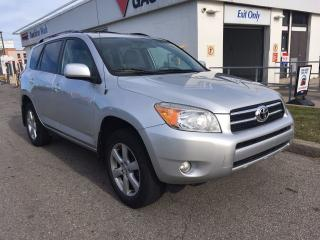 Used 2007 Toyota RAV4 Limited, Leather, Roof for sale in Scarborough, ON