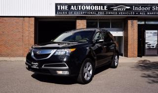 Used 2011 Acura MDX Tech Pkg 7 PASSENGER NO ACCIDENT NAVI BACK-UP DVD for sale in Mississauga, ON