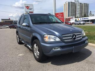 Used 2005 Mercedes-Benz ML 350 3.7L Classic for sale in Scarborough, ON