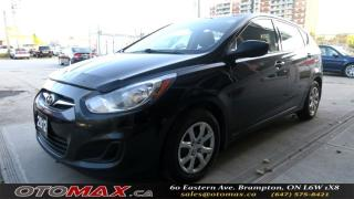 Used 2012 Hyundai Accent GL | USB&AUX | NO ACCIDENT | ONE OWNER | CERTIFIED for sale in Brampton, ON