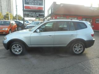 Used 2005 BMW X3 MINT for sale in Scarborough, ON