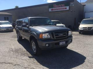 Used 2010 Ford Ranger 2010 FORD RANGER 4X4 PICKUP TRACK SAFETY & E-TEST for sale in London, ON
