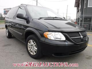 Used 2006 Dodge GRAND CARAVAN BASE WAGON for sale in Calgary, AB