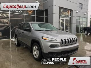 Used 2015 Jeep Cherokee Sport for sale in Edmonton, AB