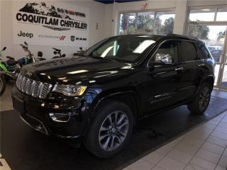 Used 2017 Jeep Grand Cherokee Overland for sale in Coquitlam, BC