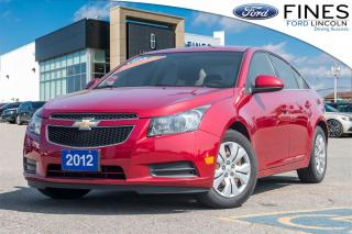 Used 2012 Chevrolet Cruze LT Turbo - POWER GROUP, A/C, AUTOMATIC for sale in Bolton, ON