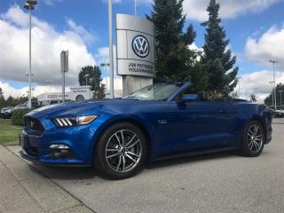 Used 2017 Ford Mustang Convertible GT Premium for sale in Surrey, BC