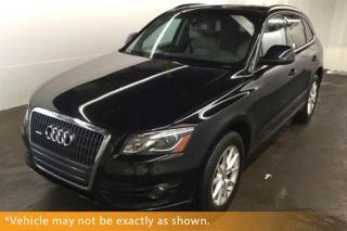 Used 2012 Audi Q5 2.0T Premium Plus, Quattro, Pa for sale in Winnipeg, MB