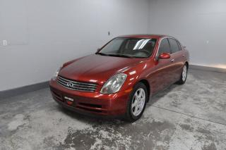Used 2003 Infiniti G35 Luxury'''GOOD VALUE FOR THE MONEY'''' for sale in Kitchener, ON