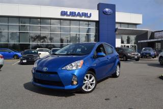 Used 2014 Toyota Prius c Technology/Navigation/No Accidents for sale in Port Coquitlam, BC