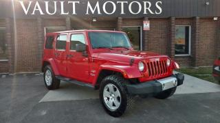 Used 2011 Jeep Wrangler Unlimited Sahara WARRANTY INCLUDED for sale in Brampton, ON