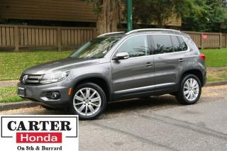 Used 2012 Volkswagen Tiguan 2.0 TSI Highline + NAVI + LEATHER + PANOROOF! for sale in Vancouver, BC