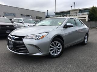Used 2015 Toyota Camry HYBRID LE,one owner,local for sale in Surrey, BC