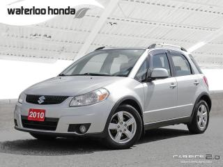 Used 2010 Suzuki SX4 JLX Includes Nokian Snow Tires (as traded). AWD, A/C and more! for sale in Waterloo, ON