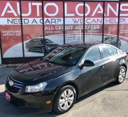 Used 2013 Chevrolet Cruze LT Turbo LT-ALL CREDIT ACCEPTED for sale in Scarborough, ON