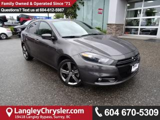 Used 2014 Dodge Dart GT *ACCIDENT FREE*ONE OWNER*LOCAL BC CAR* for sale in Surrey, BC