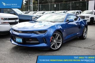 New 2018 Chevrolet Camaro 1LT Satellite Radio and Backup Camera for sale in Port Coquitlam, BC