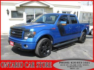 Used 2014 Ford F-150 FX4 4X4 V8 NAVIGATION SUNROOF for sale in Toronto, ON