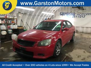Used 2005 Nissan Altima SE-R****AS IS CONDITION AND APPEARANCE****LEATHER*POWER SUNROOF*HEATED FRONT SEATS*POWER DRIVER SEAT*BOSE AUDIO* for sale in Cambridge, ON