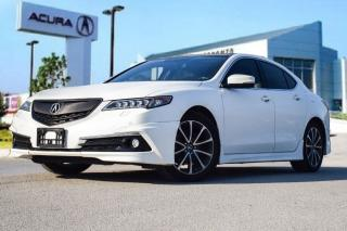 Used 2015 Acura TLX 3.5L SH-AWD w/Elite Pkg Aero KIT Spoiler Carbon Fi for sale in Thornhill, ON