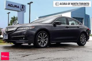 Used 2015 Acura TLX 3.5L P-AWS w/Elite Pkg Sunroof| Bluetooth|  Backup for sale in Thornhill, ON