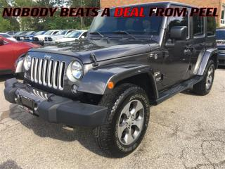 Used 2016 Jeep Wrangler Unlimited Sahara**SALE PRICE**NAV**XM RADIO** for sale in Mississauga, ON