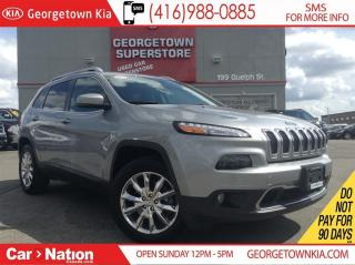 Used 2014 Jeep Cherokee NAVI| LEATHER| BACK UP CAM| CHROME RIMS for sale in Georgetown, ON