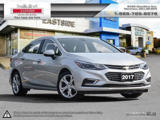 Used 2017 Chevrolet Cruze INTREST RATE AS LOW AS 0.9% for sale in Markham, ON