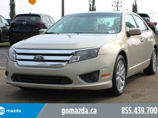Used 2010 Ford Fusion SEL AWD LEATHER SUNROOF NAVIGATION 1 OWNER LOCAL ACCIDENT FREE for sale in Edmonton, AB