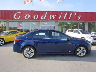 Used 2012 Chevrolet Cruze LT! FACT. REMOTE START! BLUETOOTH! for sale in Aylmer, ON