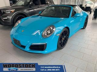 Used 2017 Porsche 911 911 TARGA 4, 1 OWNER, ONLY 9450KM,! for sale in Woodstock, ON