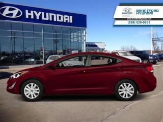 Used 2014 Hyundai Elantra L | Staff Trade-IN | Manual | NEW Tires for sale in Brantford, ON