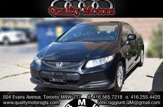 Used 2012 Honda Civic LX (M5) for sale in Etobicoke, ON