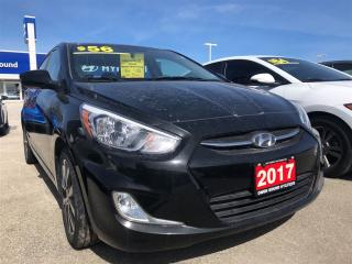 Used 2017 Hyundai Accent SE | Sunroof | Alloy wheels for sale in Owen Sound, ON
