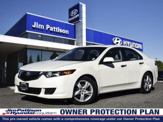 Used 2010 Acura TSX Local/bluetooth/sunroof/alloy wheels for sale in Port Coquitlam, BC