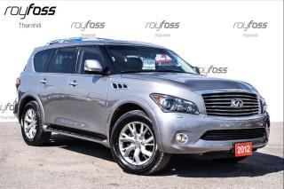 Used 2012 Infiniti QX56 4WD Navigation Sunroof 8 Passanger for sale in Thornhill, ON