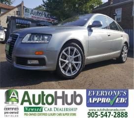 Used 2009 Audi A6 NAV-QUATTRO-LEATHER-SUNROOF for sale in Hamilton, ON