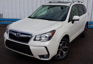 Used 2015 Subaru Forester XT Limited *LEATHER-SUNROOF* for sale in Kitchener, ON