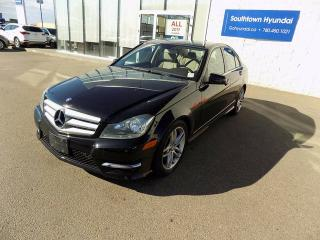 Used 2013 Mercedes-Benz C-Class C 300 4MATIC for sale in Edmonton, AB