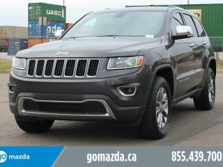 Used 2014 Jeep Grand Cherokee Limited LEATHER A/C POWER OPTIONS for sale in Edmonton, AB