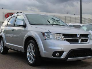Used 2013 Dodge Journey R/T, HEATED SEATS, HEATED WHEEL, SUNROOF, BACKUP CAM, DVD PLAYER, CRUISE CONTROL, BLUETOOTH, AUX / USB for sale in Edmonton, AB