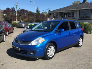 Used 2008 Nissan Versa 1.8 S, Local BC Car, Automatic, Rare Colour, Clean for sale in Surrey, BC